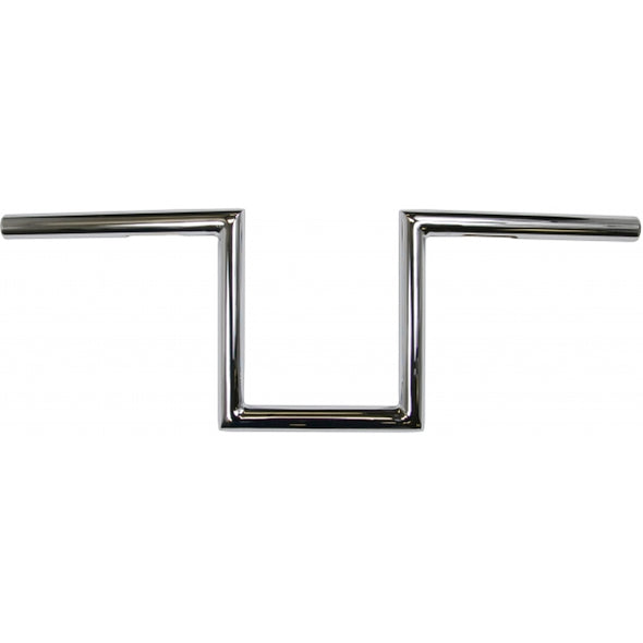 "1"" NARROW Z-BARS 8"" RISE CHROME UNIVERSAL"