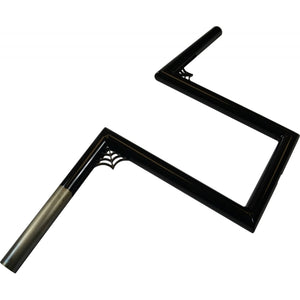 "1"" NARROW Z-BARS WEB 10"" TALL BLACK UNIVERSAL"