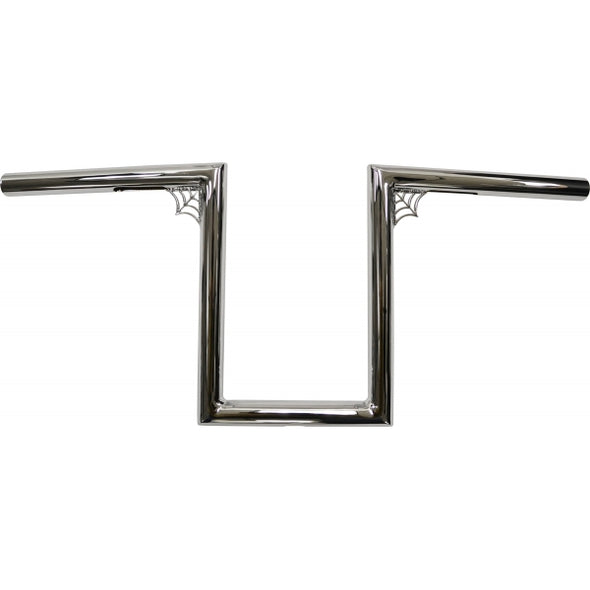 "1"" NARROW Z-BARS WEB 10"" TALL CHROME UNIVERSAL"