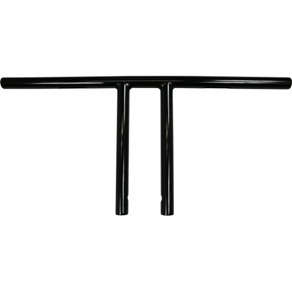 "1"" EZ RIDERS T-BARS 10"" RISE BLACK HD"