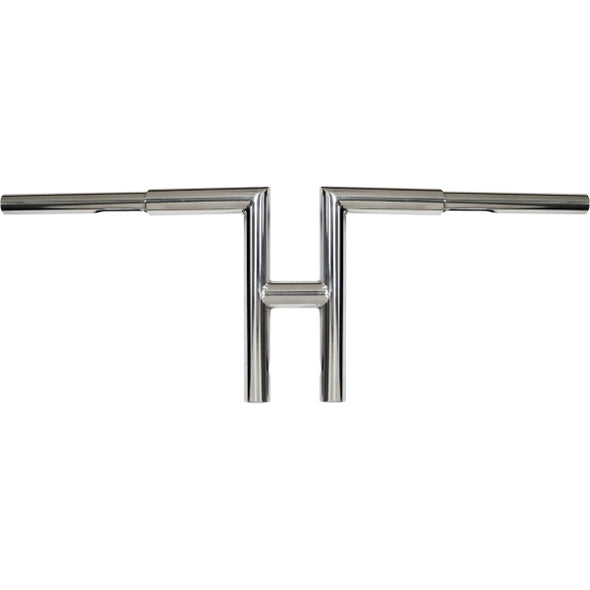 "1.25"" MITER T-BARS 10"" TALL CHROME HD"