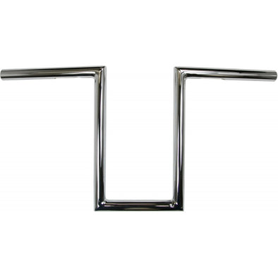 "7/8"" NARROW Z-BARS 12"" TALL CHROME UNIVERSAL"