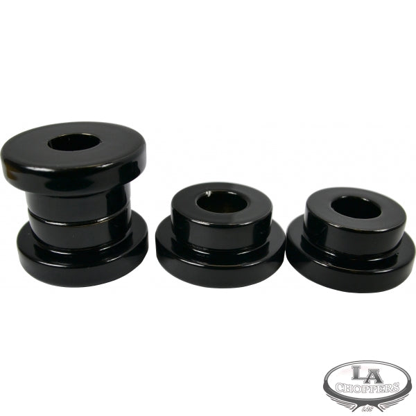 SOLID RISER BUSHINGS BLACK HD