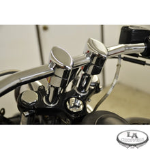 "RISERS SMOOTH FOR 1"" HANDLEBARS 4"" RISE CHROME UNIVERSAL"