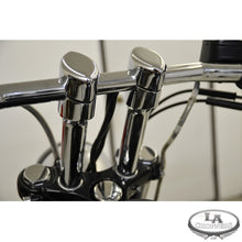 "RISERS SMOOTH FOR 1"" HANDLEBARS 6"" RISE CHROME UNIVERSAL"