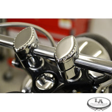 "RISERS DRILLED FOR 1"" HANDLEBARS 1.5"" RISE CHROME UNIVERSAL"
