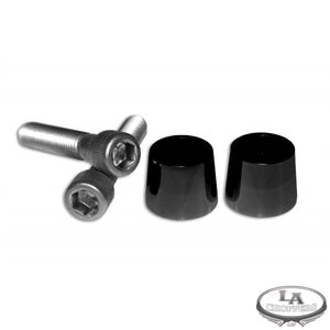BOLT RISER AND CONE 1/2 - 13 X 3 BLACK FOR HD