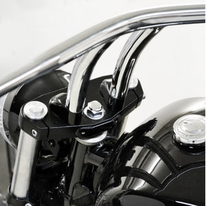 "1"" PULLBACK RISER EXTENSIONS - CHROME"
