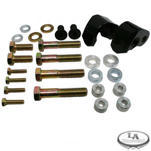 "1"" REAR LOWERING KIT BLACK"