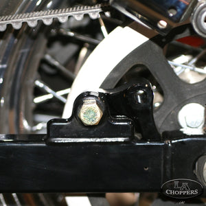 "1""  REAR LOWERING KIT BLACK HD"