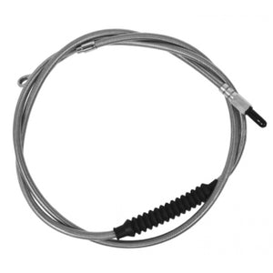 "CLUTCH CABLE STAINLESS BRAIDED FOR 15""-17"" APE HANGERS"