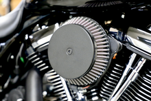 AIR CLEANER WITH PLAIN COVER (BLACK) TWIN CAM 08-16 FL