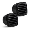 "Black Hose Thru Vent, 3"" (Pair)"