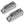 "Clam Cleat 1/8"" to 1/4"" (Set of 2) FO-1376-M2 - Five Oceans"