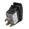 On-Off LED Illuminated Rocker Switch 2 Pins with LED FO-1526 - Five Oceans