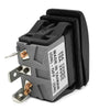 Momentary On-Off-Momentary On Rocker Switch 3 Pins FO-1528