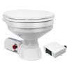 Marine Electric Toilet Large Bowl with Macerator Pump for Boats and RVs, 12V FO-1560 - Tmc