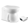 Marine Electric Toilet Medium Household Style Bowl with Macerator Pump for Boats and RVs, 12V FO-1599