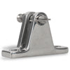 90 degree  Deck Hinge with Removable Pin FO-1671 - Five Oceans