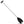 Paddle and Boat Hook, Black 4FT (48IN) FO-1876 - Five Oceans
