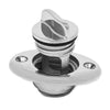 Oval Garboard Drain Plug Stainless Steel, 1-1/4""