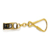 Solid Brass Block Keychain FO-2216 - Five Oceans