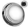 Stainless Steel LED Interior Dome Light with On-Off Switch,4 inches Cool White FO-2624