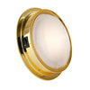 Interior Bezel LED Dome Light with an On-Off Switch,5 inch Warm White FO-2628