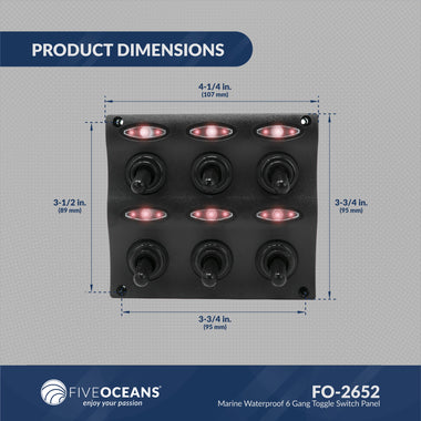 Electrical Panel & Switches | Five Oceans