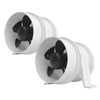 Turbo 3000 In-Line Blowers, White 3
