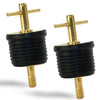 T-Handle Drain Plugs, 1 inch (2 Pack) FO-2882