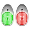 LED Navigation Lights Stainless Steel Set FO-2890