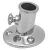 3/4 inches Flag Pole Stainless Steel Socket Top Mount FO-3109 - Five Oceans