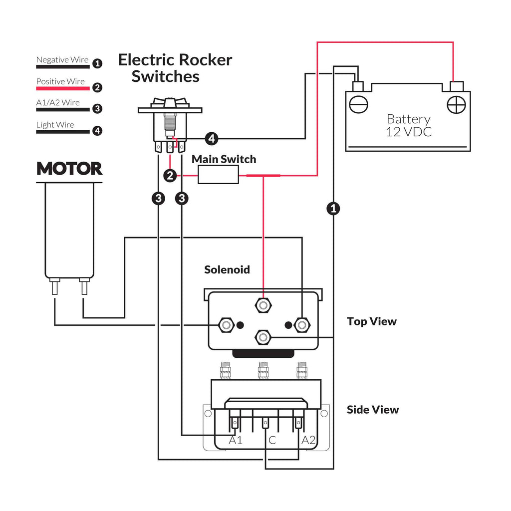 12 Volt Toggle Switch Wiring Diagram