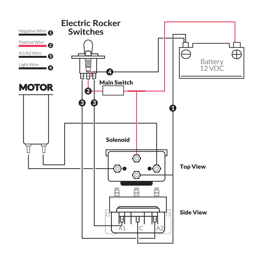 Up Down Switch Wiring Diagrams. Up Down Switch External Pad, Up Down Up Down Rocker Switch Wiring Diagram on up down stop switch, hydraulic pump control wiring, learning basic boat wiring, hydraulic trim pump wiring,