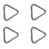 Stainless Steel Triangle, 1/4 x 2 inches (4-Pack)  FO-3808-M4