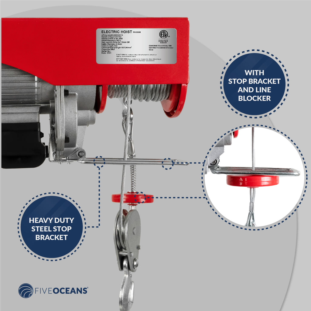 2200 lb overhead electric hoist crane five oceans 24 volt plug diagram overhead electric hoist crane five oceans