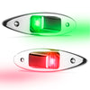 Stainless Steel Flush Mount LED Navigation Side Lights, 12V FO-3840