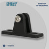 Nylon 90 degrees Deck Hinge, 7/8 inches (Pair) FO-3847-M2