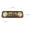 Nautical Clock & Thermometer FO-3975 - Five Oceans