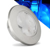Interior Round LED Flush Mount Ceiling Light, Blue FO-4135