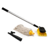 Boaters Deluxe Deck Brush Kit w/ Brush, Mop, and Hook FO-4264