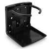 Adjustable Fold-Up Drink Holder, Black FO-4332
