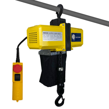 110V Crane Lift with Remote Control Remote Cable 6FT UL//CUL CERTIFIED Five Oceans Overhead Electric Hoist