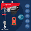 1540 LB. Overhead Electric Hoist Crane with Wireless Remote Control FO-4406