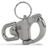 "Swivel Eye Snap Shackle Quick Release Bail Rigging Sailing Boat Stainless Steel, 2 3/4"" FO-443"