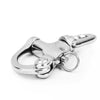 Swivel Eye Snap Shackle Quick Release Bail Rigging Sailing Boat Stainless Steel, 3-1/2 inches (Pair) FO-444-M2 - Five Oceans
