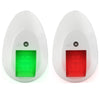 LED Navigation Lights White Set FO-4480 (USCG 2NM)