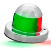 Bi-Color Red & Green Combination Bow Stainless Steel Navigation Light FO-4512