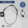Mounting Bracket Holder for Ring Buoy, Stainless Steel FO-555
